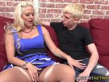 Holly Heart Takes A Big Black Cock In Front Of Her Cuckold