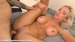 Horny Step Mom Gets Some Dick!