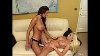 Amy Reid And Malibu Fuck With Strap-On