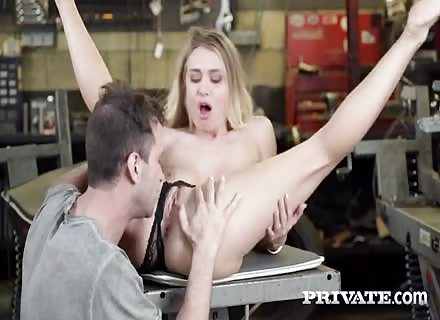 Natalia Starr Is A Hot Bike Mechanic