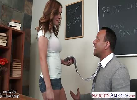 Cute Student Tiff Bannister Taking Cock 2